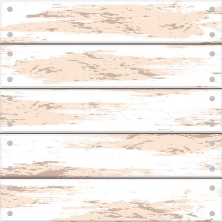 plank: Seamless background of light wooden planks. Illustration