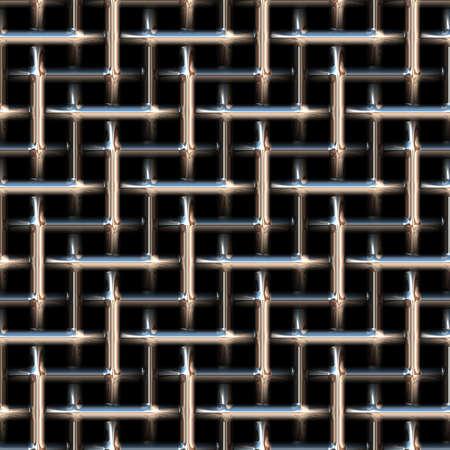 malla metalica: Fondo abstracto inconsútil de malla metálica. Textura. Foto de archivo