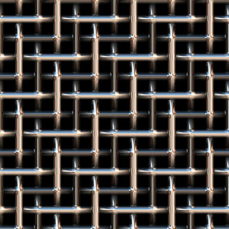 metal mesh: Seamless abstract background of metal mesh. Texture. Stock Photo