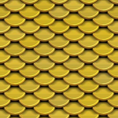squama: Seamless squama of gold. Background texture.