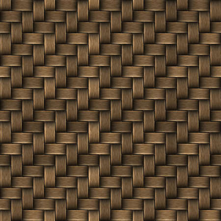 weave: Seamless texture of basket surface. Pattern background.