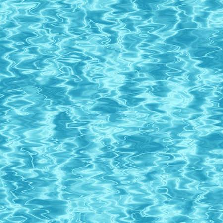Naadloze achtergrond van blauwe water oppervlak. Stockfoto
