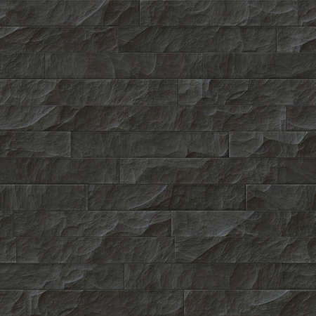 stone wall texture: Texture of a dark stone wall. Seamless background. Stock Photo