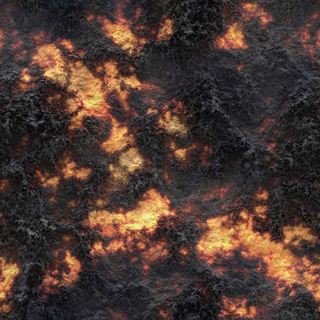 the ashes: Seamless texture of lava and ashes. Background or texture. Stock Photo
