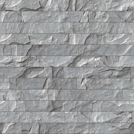 Nahtlose Steinmauer Textur. Kachel Hintergrund.