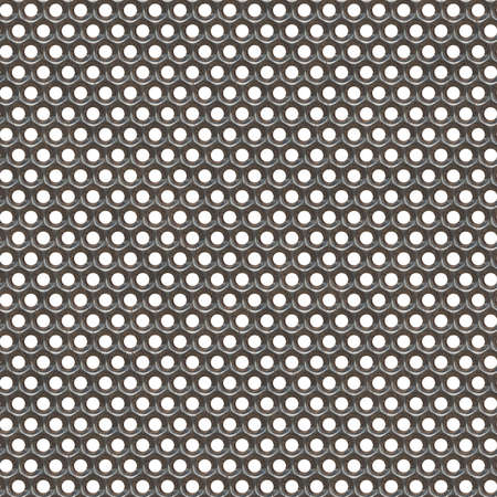 metal grate: Seamless metal grid texture. Metal background. Isolated on white background.