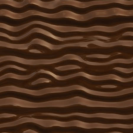 melted chocolate: Seamless texture of chocolate. Abstract background of melted chocolate.