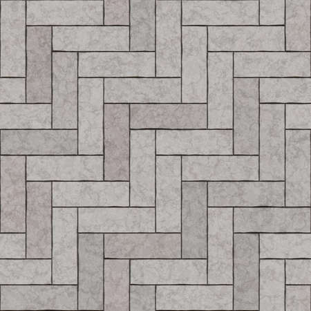 Seamless texture di pietre da lastrico. tegola sfondo grigio. Archivio Fotografico - 57220495