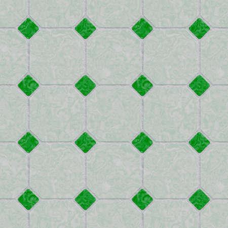 malachite: Classic tile. Seamless mosaic texture. Mosaic of green colored. Marble tile. Seamless malachite mosaic. Stock Photo