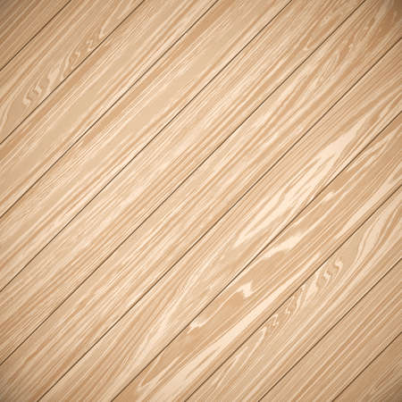 laid: Wood plank brown background. Planks laid on the diagonal. Beige wood background. Illustration