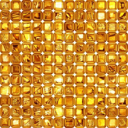 golden texture: Luxury golden mozaic. Golden glass. Seamless texture or background.