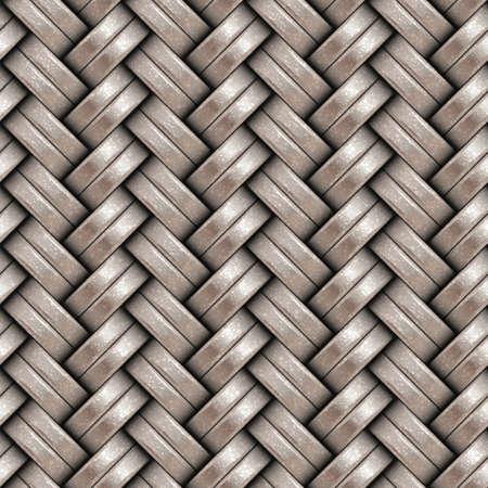 weaving: Seamless weaving pattern. Metallic surface. Pattern background.