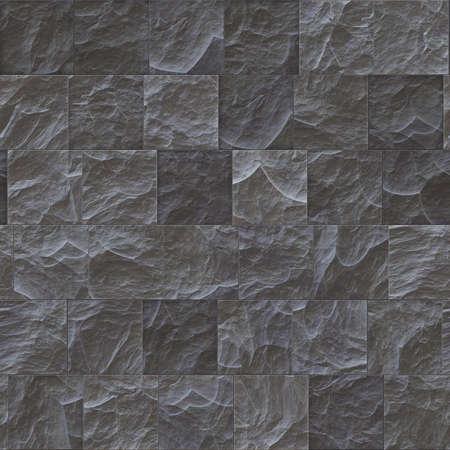 seamless tile: Seamless stone wall texture. Texture of paving stones. Gray tile background.