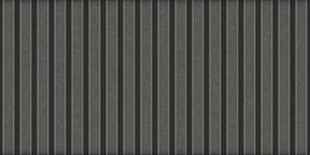 Corrugated metal sheet. Texture of dark metal fence or covering. Seamless background. Hight resolution. Stockfoto
