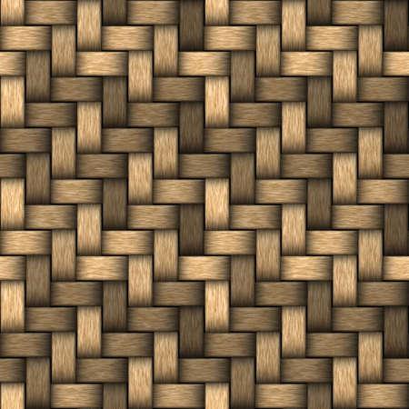 Natural bamboo texture. Seamless texture of basket surface. Hight resolution.