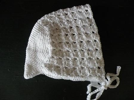 아기 모자 빈티지 크로 셰 뜨개질