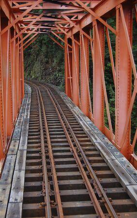 steam train historic rail bridge photo