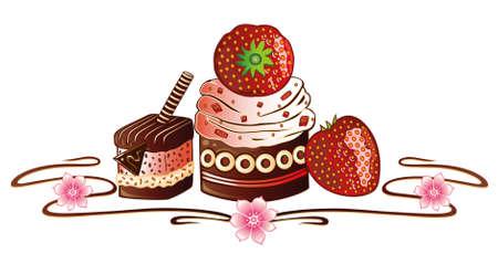 patisserie: Strawberry chocolates