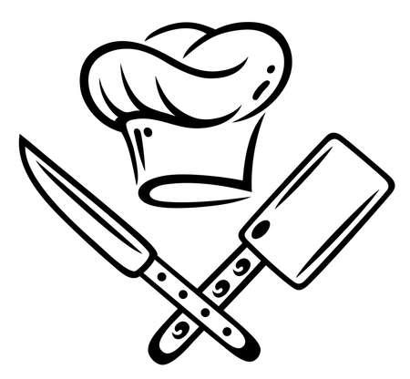 Kochen hat mit Messer