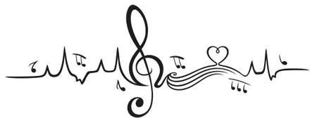Herzschlag, Liebe zur Musik