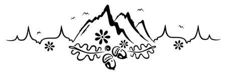Herzschlag, Liebe zum Wandern und Bergsteigen.