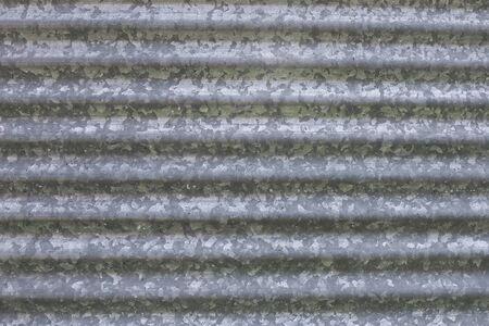 農業穀物貯蔵箱の段ボールの亜鉛めっき鋼板の背景。 写真素材