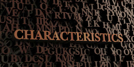 Characteristics - Wooden 3D rendered letters/message.  Can be used for an online banner ad or a print postcard.