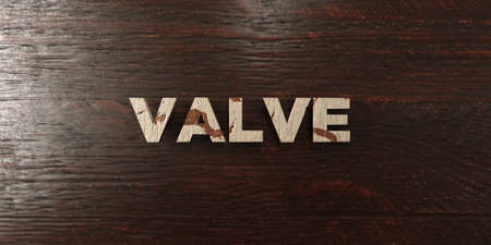 Valve - grungy wooden headline on Maple  - 3D rendered royalty free stock image. This image can be used for an online website banner ad or a print postcard. Zdjęcie Seryjne