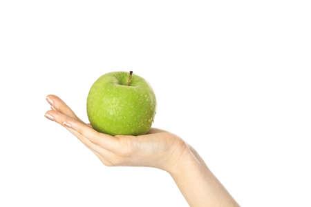 Köstliche grünem Apfel Standard-Bild - 17636214