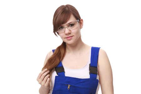 Frau trägt Brille Standard-Bild - 17789530