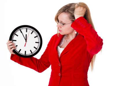 administración del tiempo: Gestión del tiempo Foto de archivo