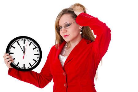 gestion del tiempo: Gesti�n del tiempo Foto de archivo