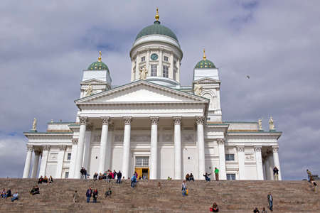 lutheran: The Lutheran Cathedral in the Old Town of Helsinski, FInland