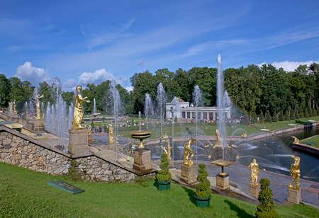 cascade: Grand Peterhof Palace and the Grand Cascade