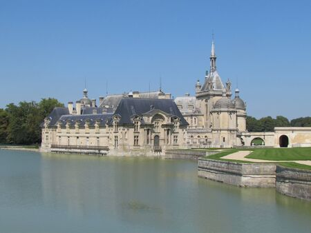 chantilly: Chantilly castle Stock Photo
