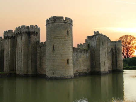 Bodiam Castle Stock Photo - 14423983