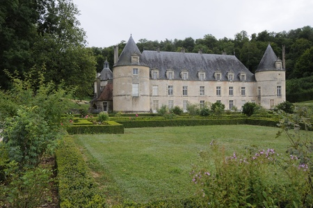 ccedil: Chateau de Bussy-Rabutin  France, Bourgogne