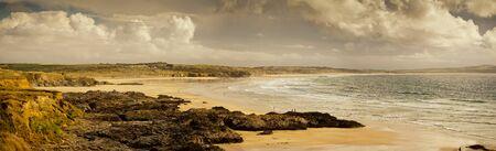 cornwall: Godrevy beach in Cornwall