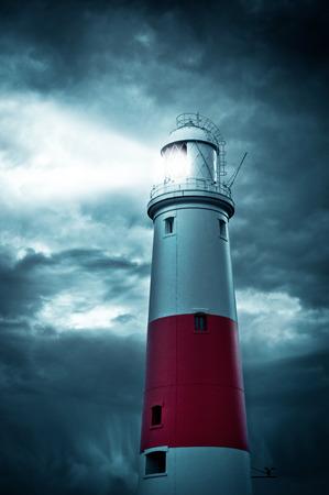 dorset: Portland Bill lighthouse, Dorset, England