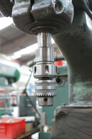 industrail: industrail old fashion drill machine