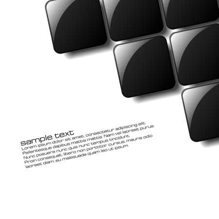 Resumen cuadrados de dise�o para su uso en un cartel, folleto o parte de un dise�o