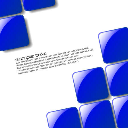 Abstract squares design for use as a background Stock Vector - 5548826