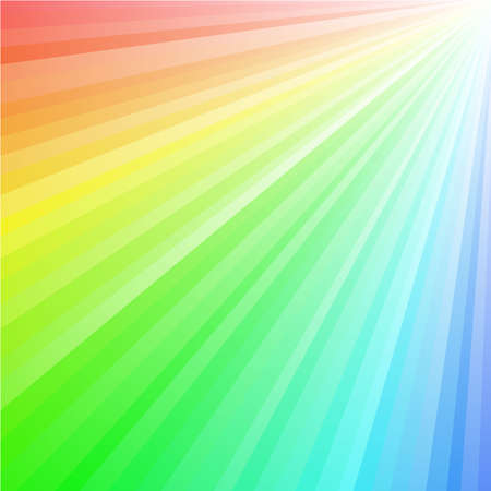 Rainbow coloured rays background. Available in jpeg and eps8 formats.