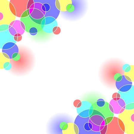 Fondo de c�rculos de color brillante. Disponible en los formatos jpeg y eps8.