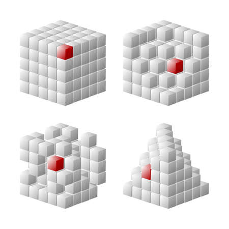 Set of cube designs available in both jpeg and eps8 formats.