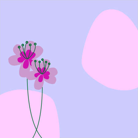 Floral design for background, card, etc. Available in both jpeg and eps8 format.