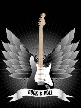 hardrock: Music design for use as a background. Available in jpeg and eps8 formats. Illustration