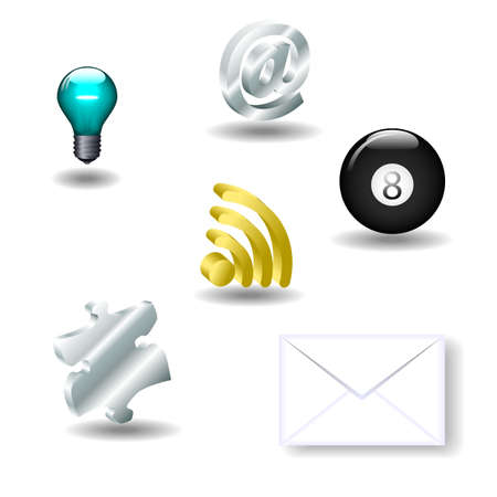 Set of 3d icons available in jpeg and eps8 format.