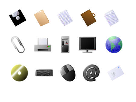 Set of icons. Available in both jpeg and eps8 format. Illustration