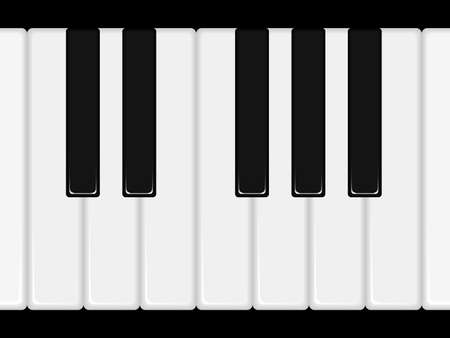 Illustration of piano keys. Available in jpeg and eps8 formats.